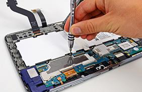 Ремонт гнезда наушников планшета Huawei в москве
